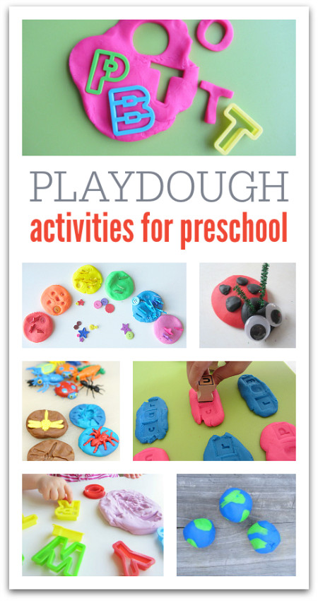 Best ideas about Creative Activities For Preschoolers . Save or Pin 21 Playdough Activities Now.
