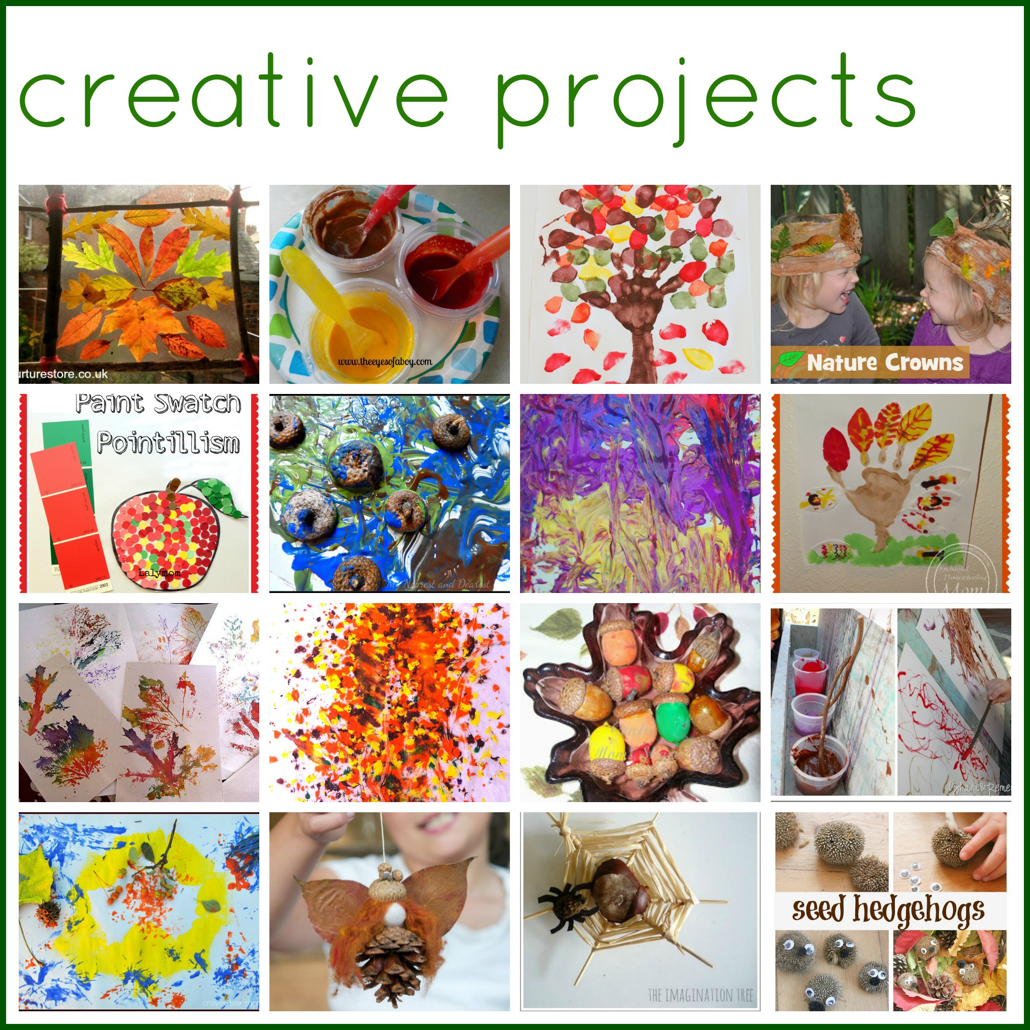 Best ideas about Creative Activities For Preschoolers . Save or Pin 50 Autumn Play and Art Activities for Kids The Now.