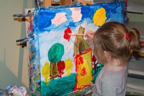 Best ideas about Creative Art For Kids . Save or Pin Creative Art Space for Kids Foundation Childrens art Now.