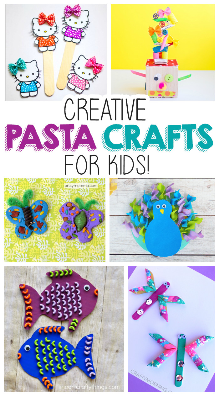 Best ideas about Creative Art For Kids . Save or Pin Creative Pasta Crafts For Kids Now.