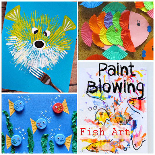 Best ideas about Creative Art For Kids . Save or Pin Creative Little Fish Crafts for Kids Crafty Morning Now.