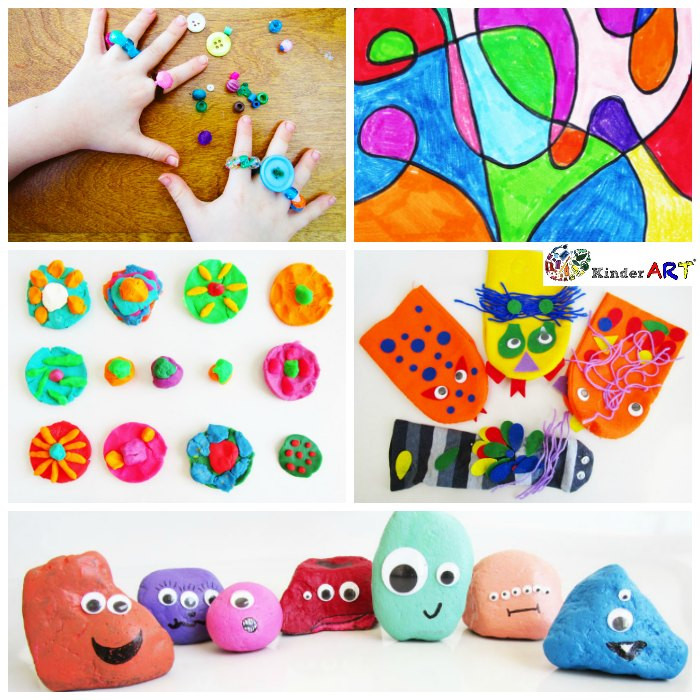 Best ideas about Creative Art For Kids . Save or Pin 5 Creative Activities for Kids – KinderArt Now.
