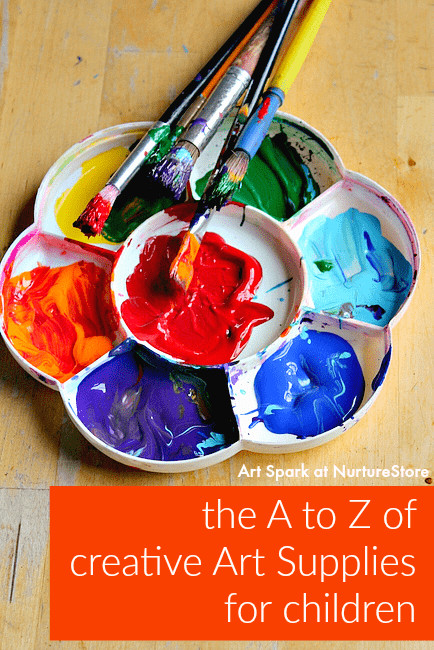 Best ideas about Creative Art For Kids . Save or Pin The A to Z of the best art materials for children free Now.