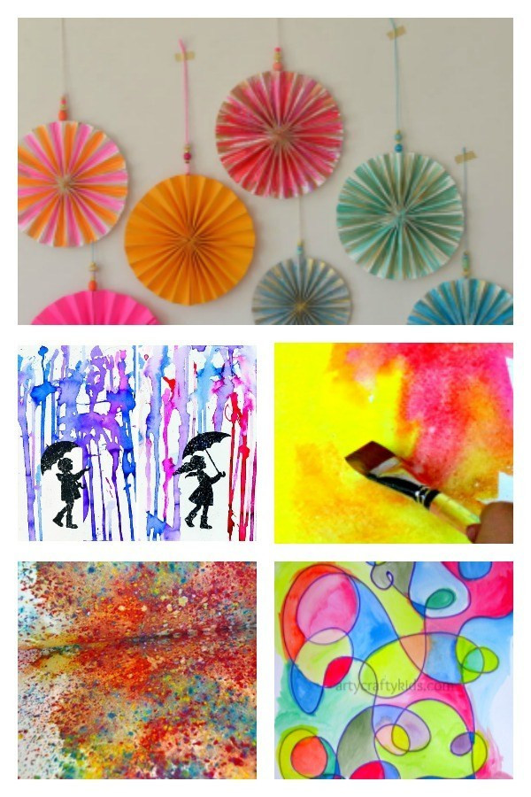 Best ideas about Creative Art For Kids . Save or Pin Creative Watercolor Art Projects for Kids Arty Crafty Kids Now.