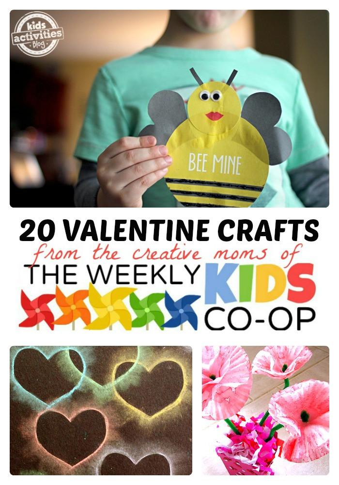 Best ideas about Creative Crafts For Kids . Save or Pin 20 Cool Valentine Crafts for Kids Now.