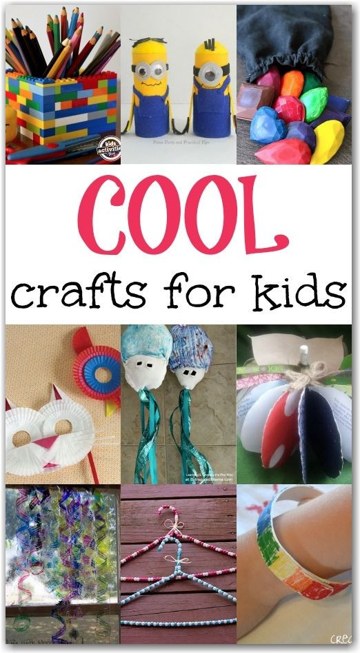 Best ideas about Creative Crafts For Kids . Save or Pin 193 best images about DIY Projects For Kids on Pinterest Now.
