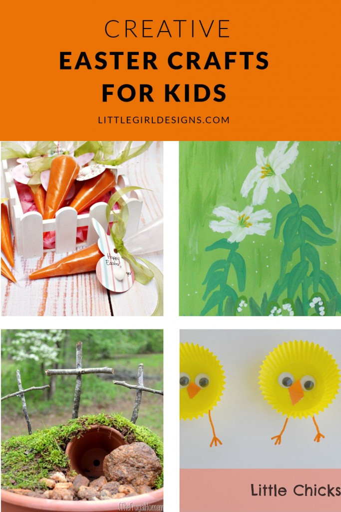 Best ideas about Creative Crafts For Kids . Save or Pin Creative Easter Crafts for Kids Little Girl Designs Now.