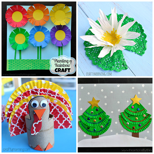 Best ideas about Creative Project For Kids . Save or Pin Creative Cupcake Liner Crafts for Kids to Make Crafty Now.