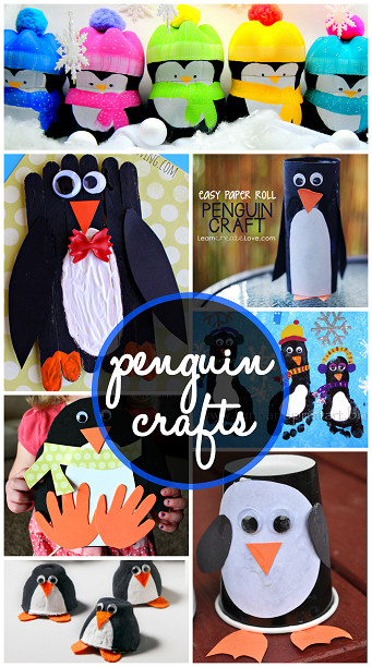 Best ideas about Creative Project For Kids . Save or Pin Creative Penguin Crafts for Kids to Make Crafty Morning Now.
