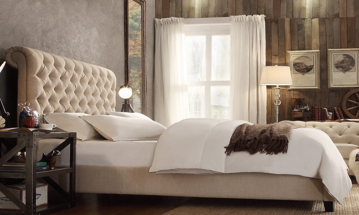 Best ideas about Curtain Idea For Bedroom . Save or Pin Top 5 Bedroom Curtain Ideas Overstock Now.