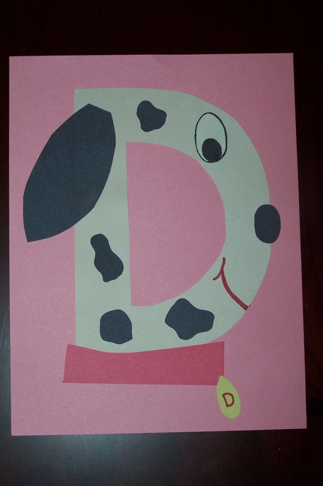 Best ideas about D Crafts For Preschoolers . Save or Pin The Princess and the Tot Letter Crafts Uppercase Now.