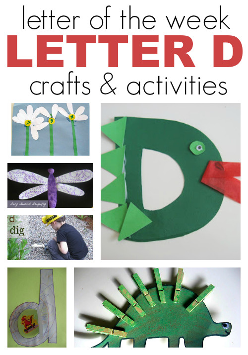 Best ideas about D Crafts For Preschoolers . Save or Pin The Ultimate Letter The Week Resource For Preschool Now.