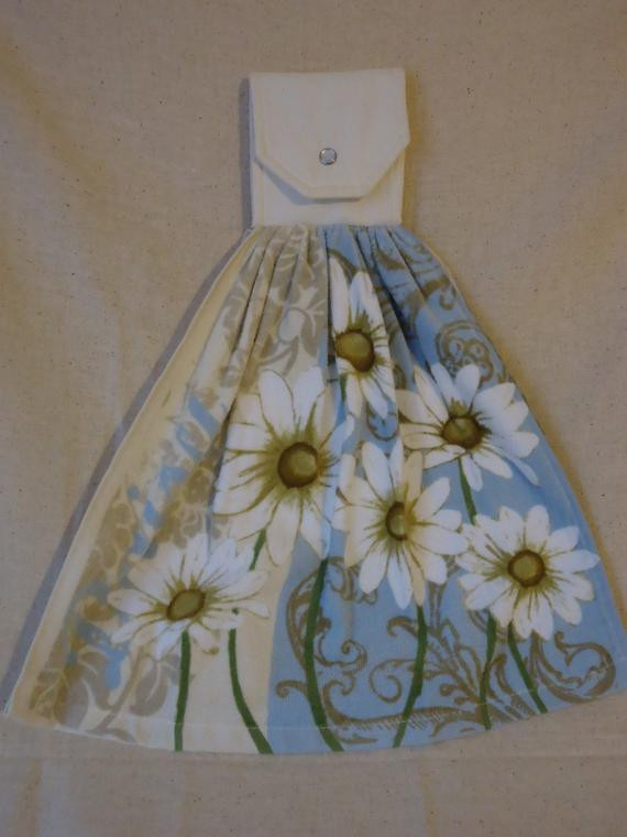Best ideas about Daisy Kitchen Decorations . Save or Pin Daisy Kitchen Towel Decorative Towel Oven Door Decor Now.