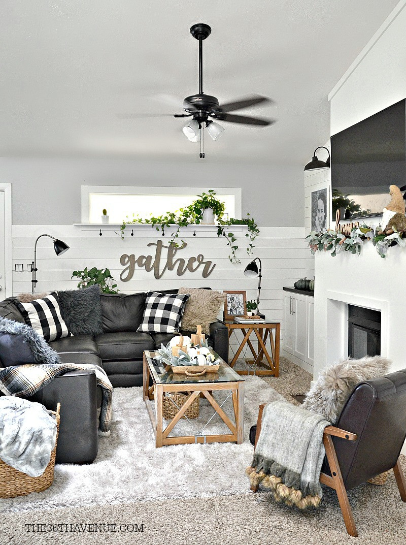 Best ideas about Decor For Living Room . Save or Pin Living Room Farmhouse Decor Ideas The 36th AVENUE Now.