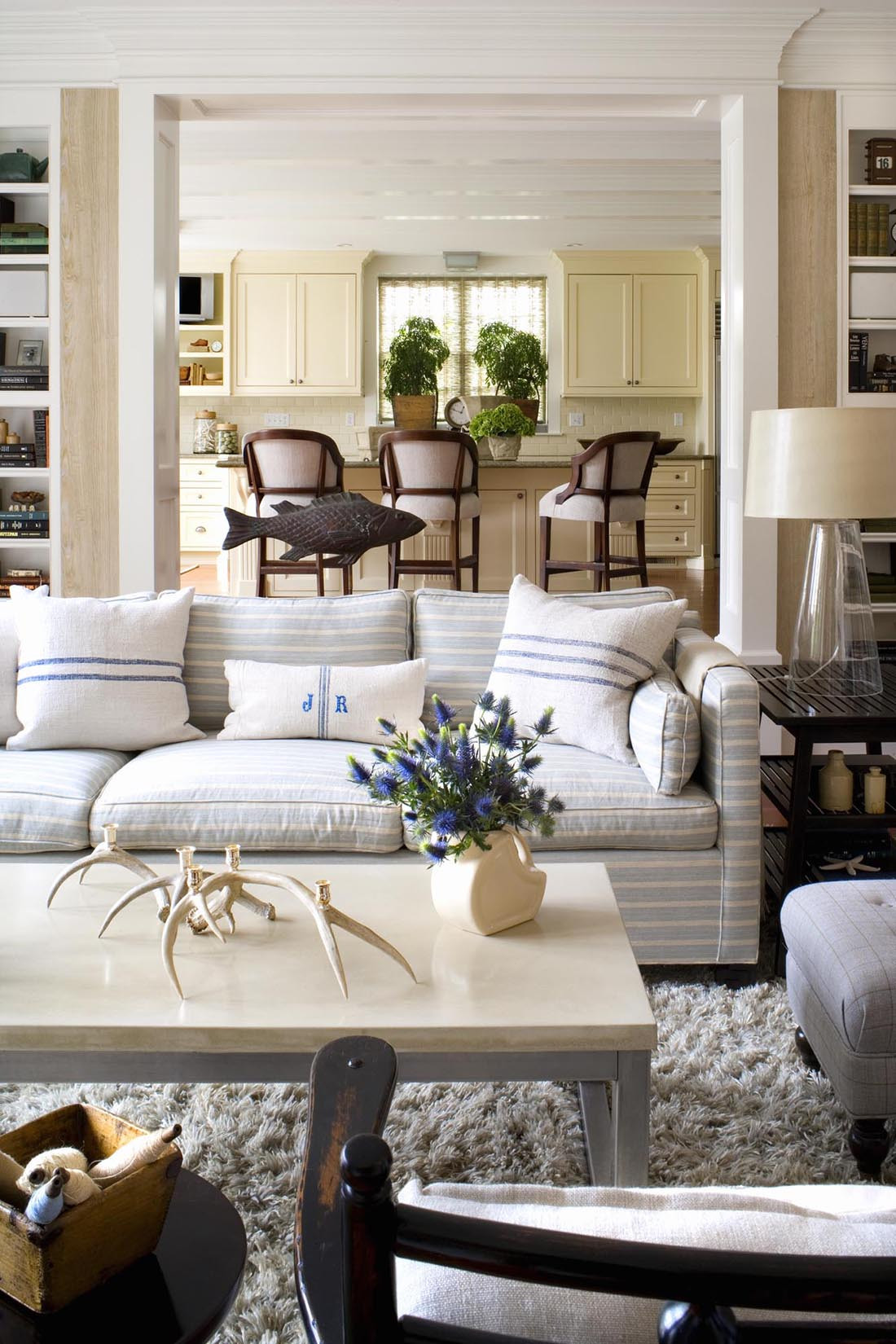 Best ideas about Decor For Living Room . Save or Pin Burnham Design Now.