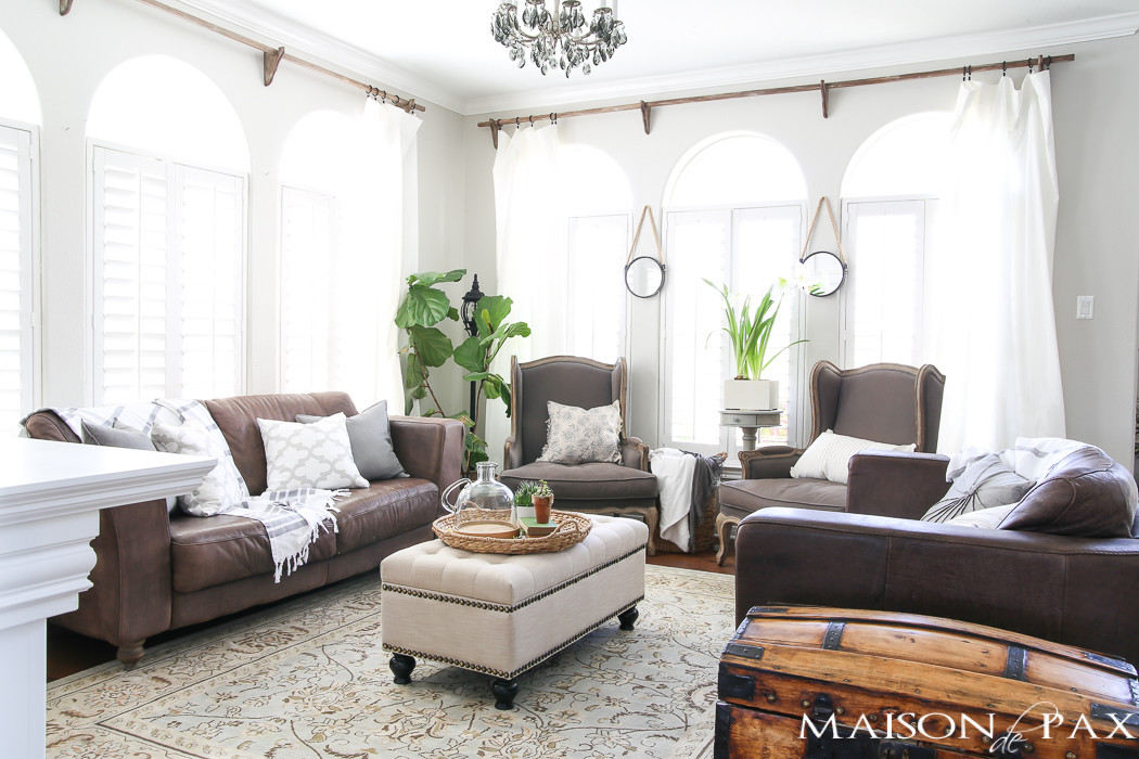 Best ideas about Decor For Living Room . Save or Pin Spring Living Room Decorating Ideas Maison de Pax Now.