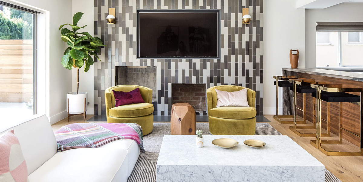 Best ideas about Decorating Ideas For Family Room . Save or Pin 30 Family Room Design Ideas Decorating Tips for Family Rooms Now.