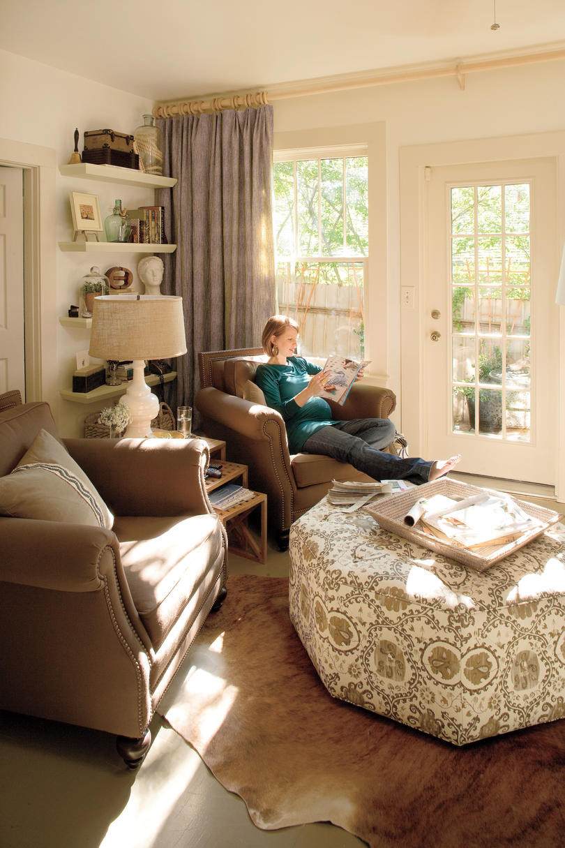 Best ideas about Decorating Ideas For Family Room . Save or Pin A Living Room Redo with a Personal Touch Decorating Ideas Now.