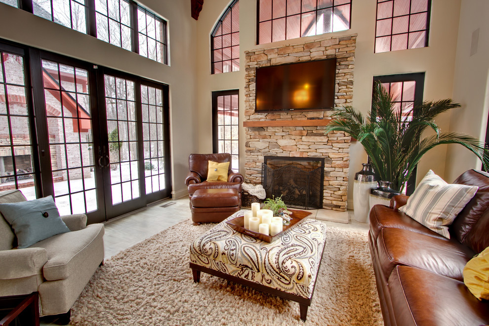 Best ideas about Decorating Ideas For Family Room . Save or Pin Marvelous Diy Ottoman decorating ideas Now.