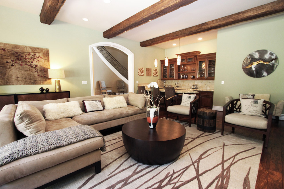 Best ideas about Decorating Ideas For Family Room . Save or Pin Cozy Family Room Decorating Ideas With Sectional And Now.