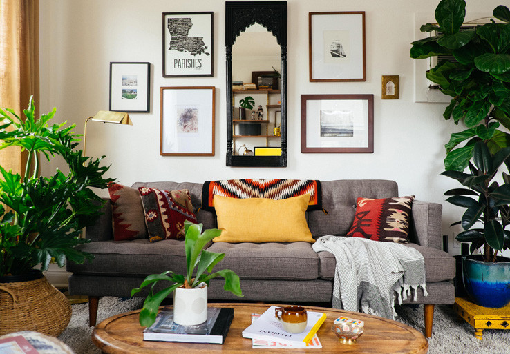 Best ideas about Decorating Small Living Room . Save or Pin Colorful Decorating Ideas for Small Living Room Now.