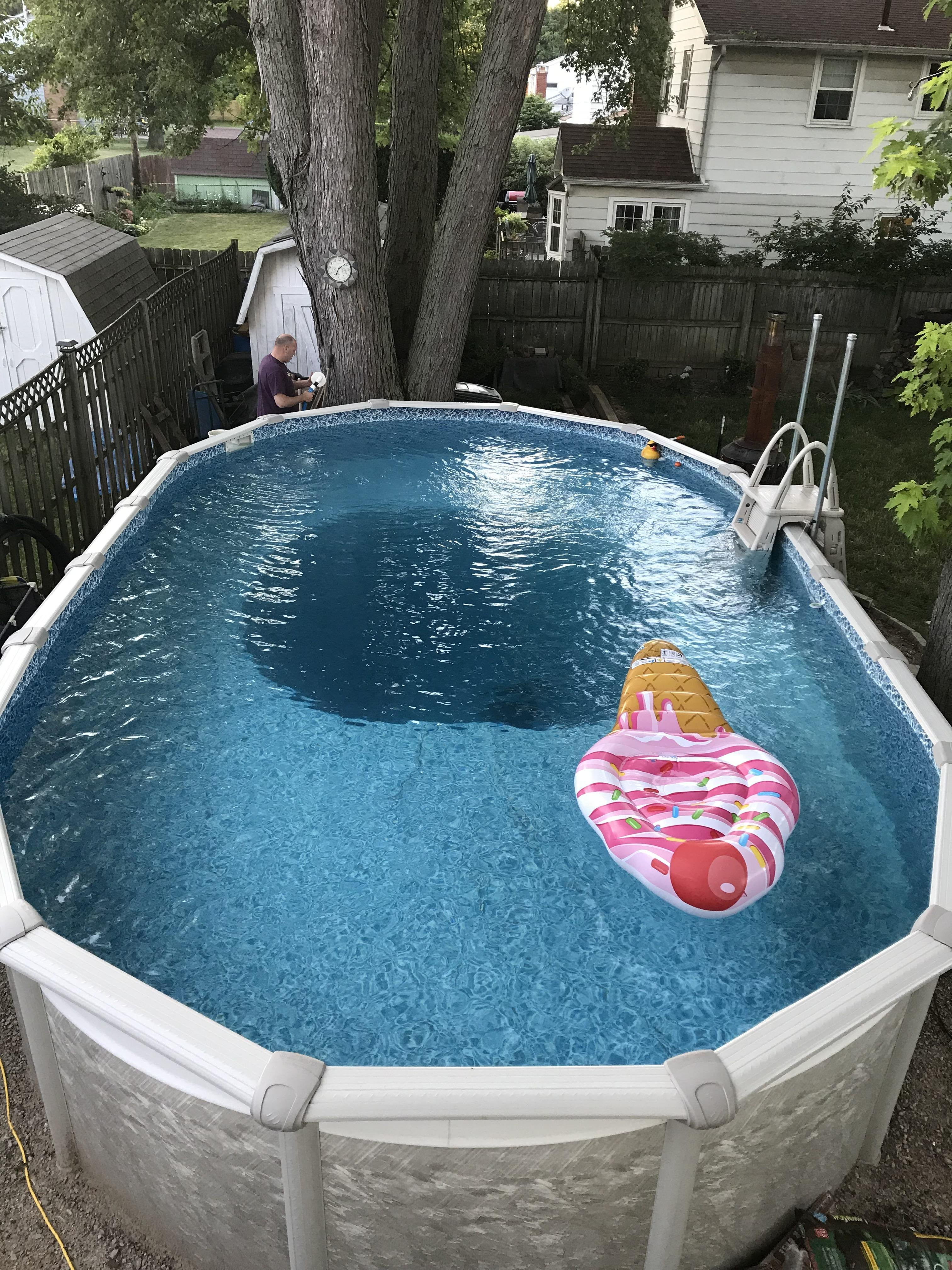 Best ideas about Deepest Above Ground Pool . Save or Pin My above ground pool has a 13 foot deep pit Now.