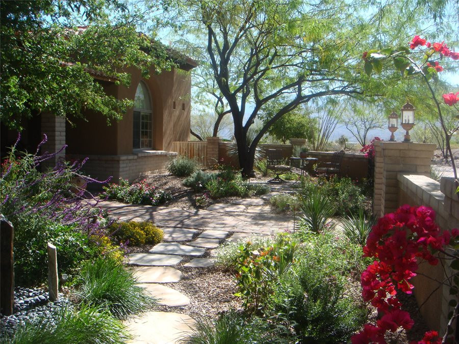 Best ideas about Desert Garden Ideas . Save or Pin Front Yard Landscaping Ideas Landscaping Network Now.