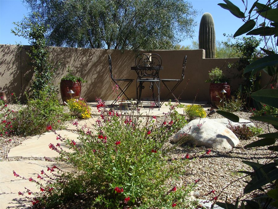 Best ideas about Desert Garden Ideas . Save or Pin Low Maintenance Front Yard Landscaping Landscaping Network Now.