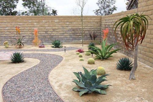 Best ideas about Desert Garden Ideas . Save or Pin desert landscape ideas Now.
