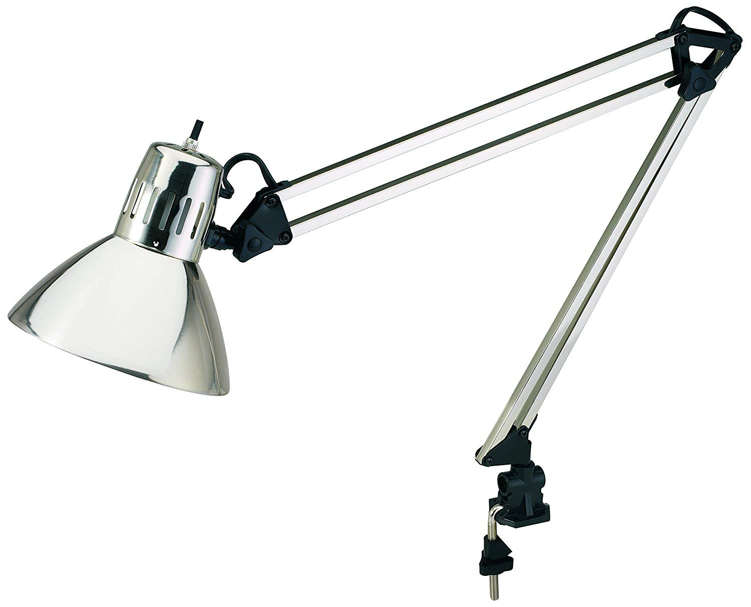 Best ideas about Desk Lamp Clamp . Save or Pin V LIGHT Architect Style CFL Swing Arm Task Lamp with Non Now.
