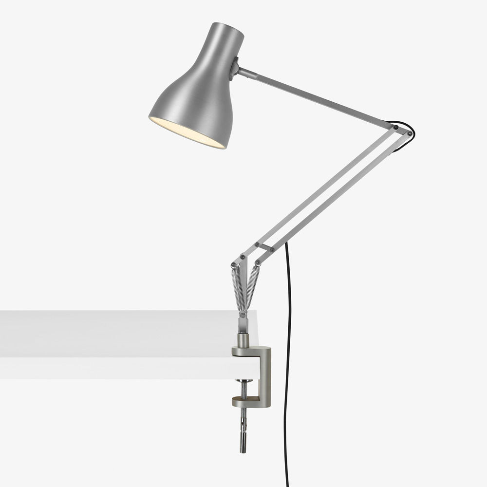 Best ideas about Desk Lamp Clamp . Save or Pin Type 75 Lamp with Desk Clamp Silver Lustre Now.