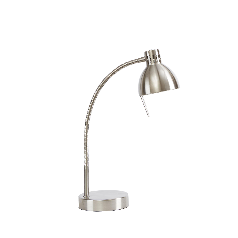 Best ideas about Desk Lamp Walmart . Save or Pin Mainstays Halogen Desk Lamp Brushed Steel Walmart Now.