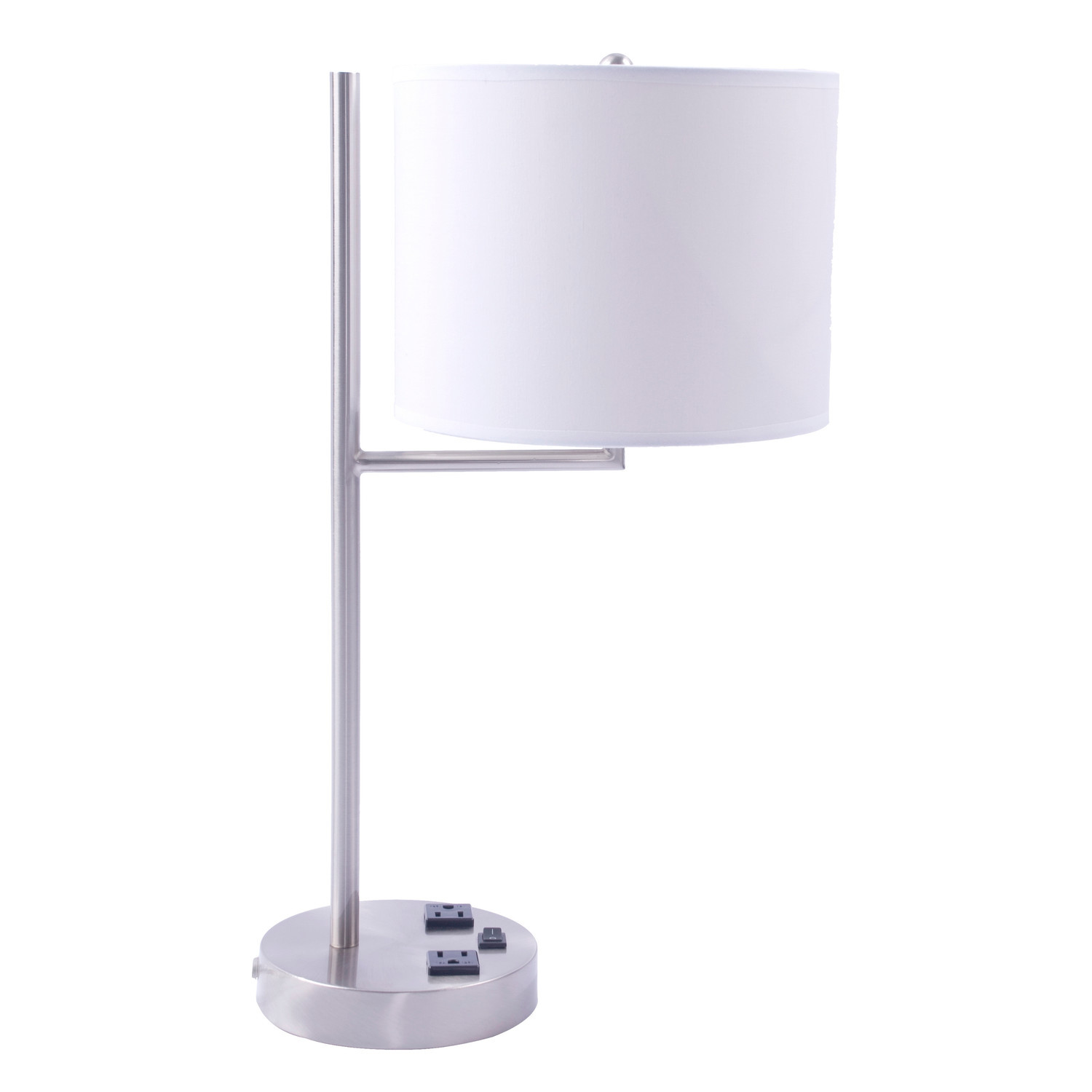 Best ideas about Desk Lamp With Outlet . Save or Pin Modern Table Lamp With Outlet Base Desk Lamp Desk Lamp Now.