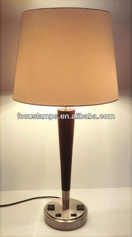 Best ideas about Desk Lamp With Outlet . Save or Pin Amazing Bedroom Awesome Hotel Table Lamps With Outlets And Now.