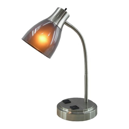 Best ideas about Desk Lamp With Outlet . Save or Pin Desk and Table Lamp with Power Outlet and USB in Base Now.