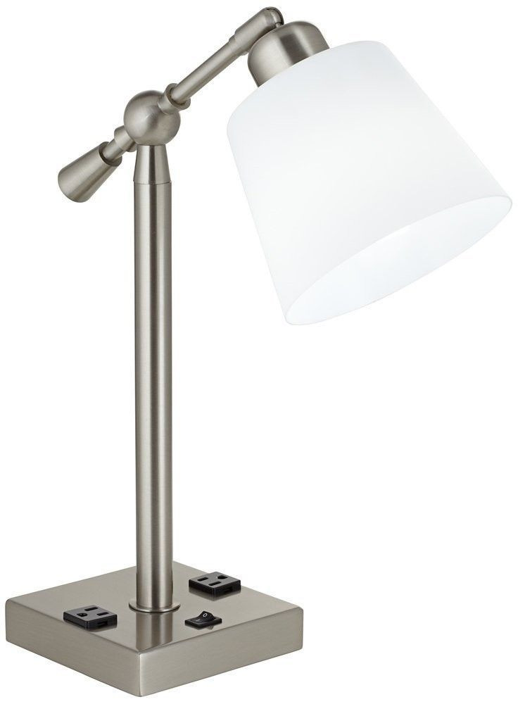 Best ideas about Desk Lamp With Outlet . Save or Pin Awesome Interior Stylish Table Lamp With Outlet In Base Now.