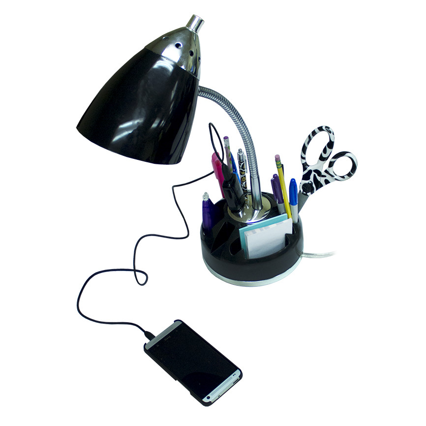 Best ideas about Desk Lamp With Outlet . Save or Pin Desk lamp with outlet Now.