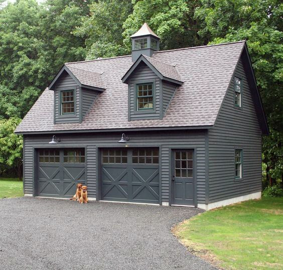 Best ideas about Detached Garage Design Ideas . Save or Pin Top 60 Best Detached Garage Ideas Extra Storage Designs Now.