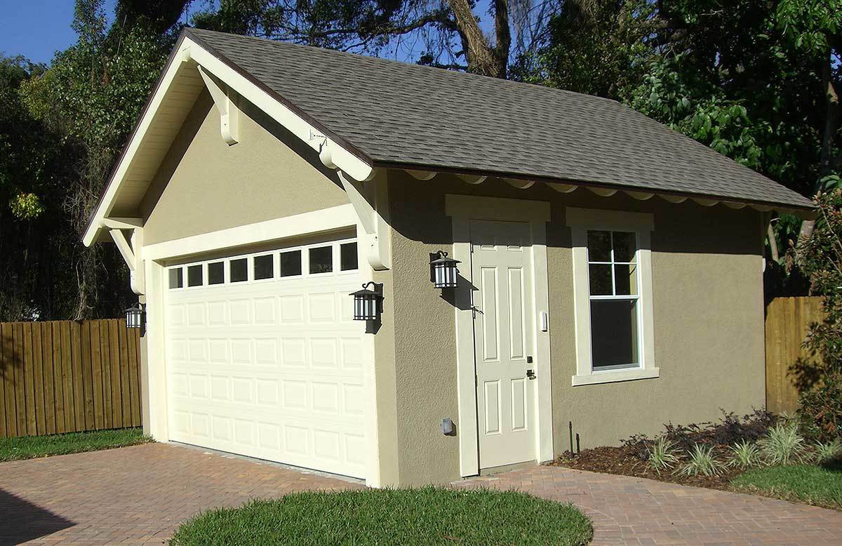 Best ideas about Detached Garage Design Ideas . Save or Pin Craftsman Style Detached Garage Plan TD Now.