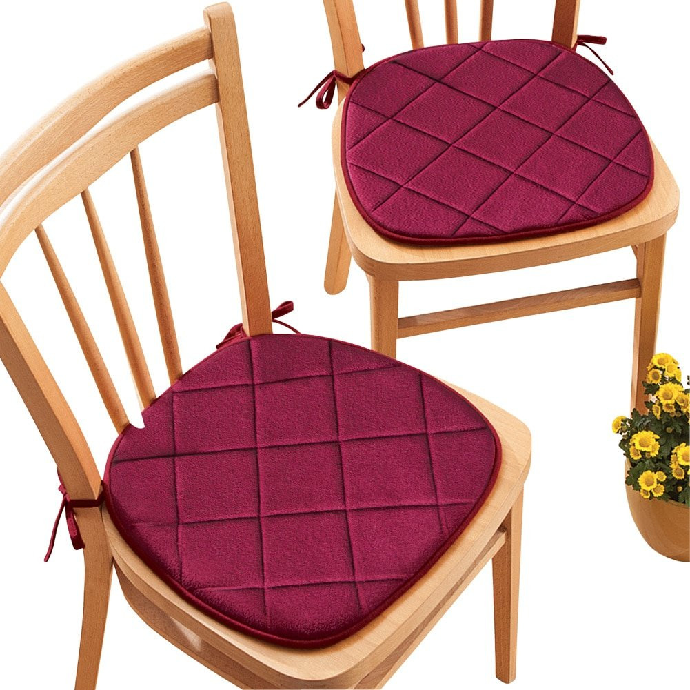 Best ideas about Dining Chair Cushions With Ties . Save or Pin Dining Room Chair Cushions Amazon Now.