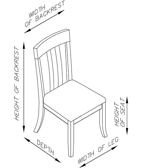 Best ideas about Dining Room Dimensions . Save or Pin Abaco Rattan Side Chair Casual Now.