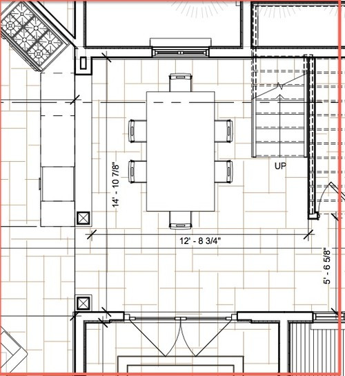 Best ideas about Dining Room Dimensions . Save or Pin Need help for small dining room design Now.