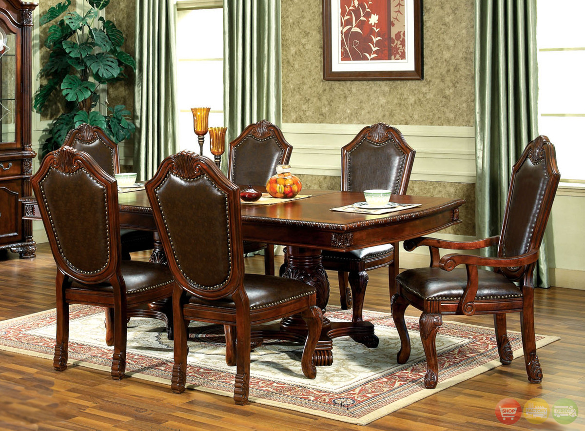 Best ideas about Dining Room Furniture . Save or Pin Chateau Traditional Formal Dining Room Furniture Set Free Now.