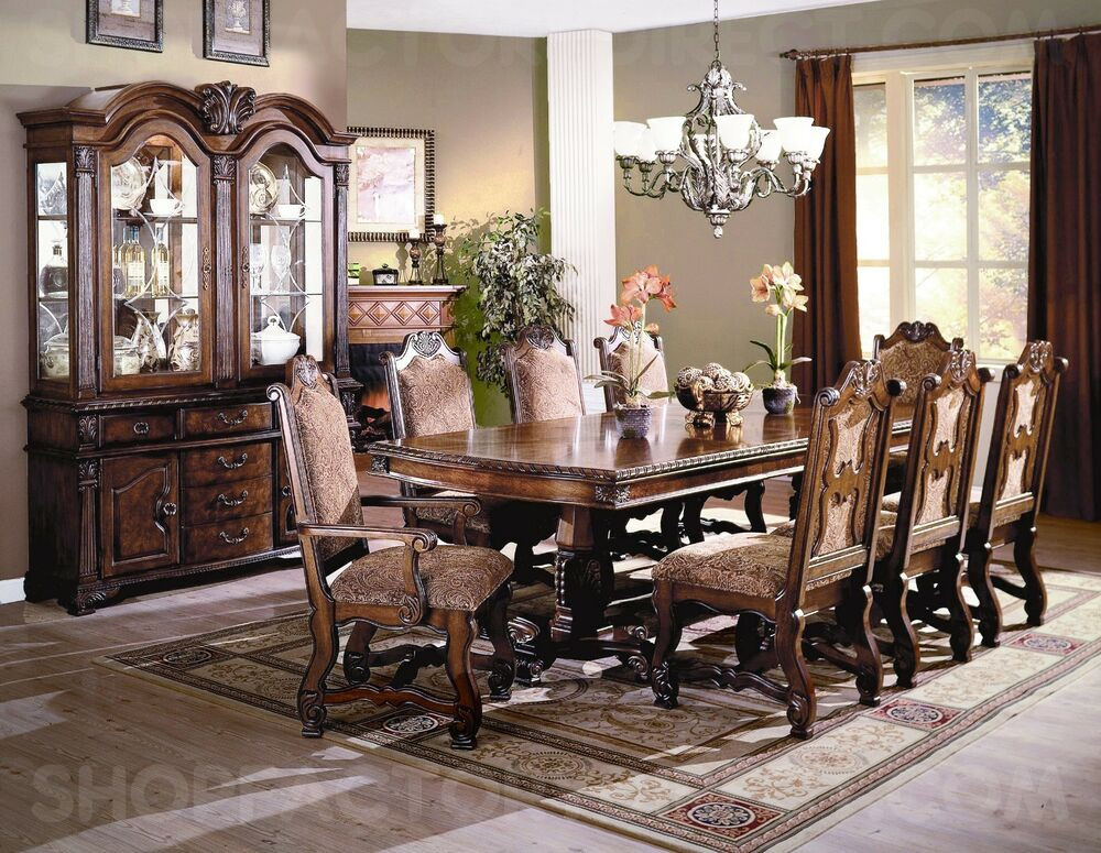 Best ideas about Dining Room Furniture . Save or Pin Neo Renaissance Formal Dining Room Furniture Set with Now.