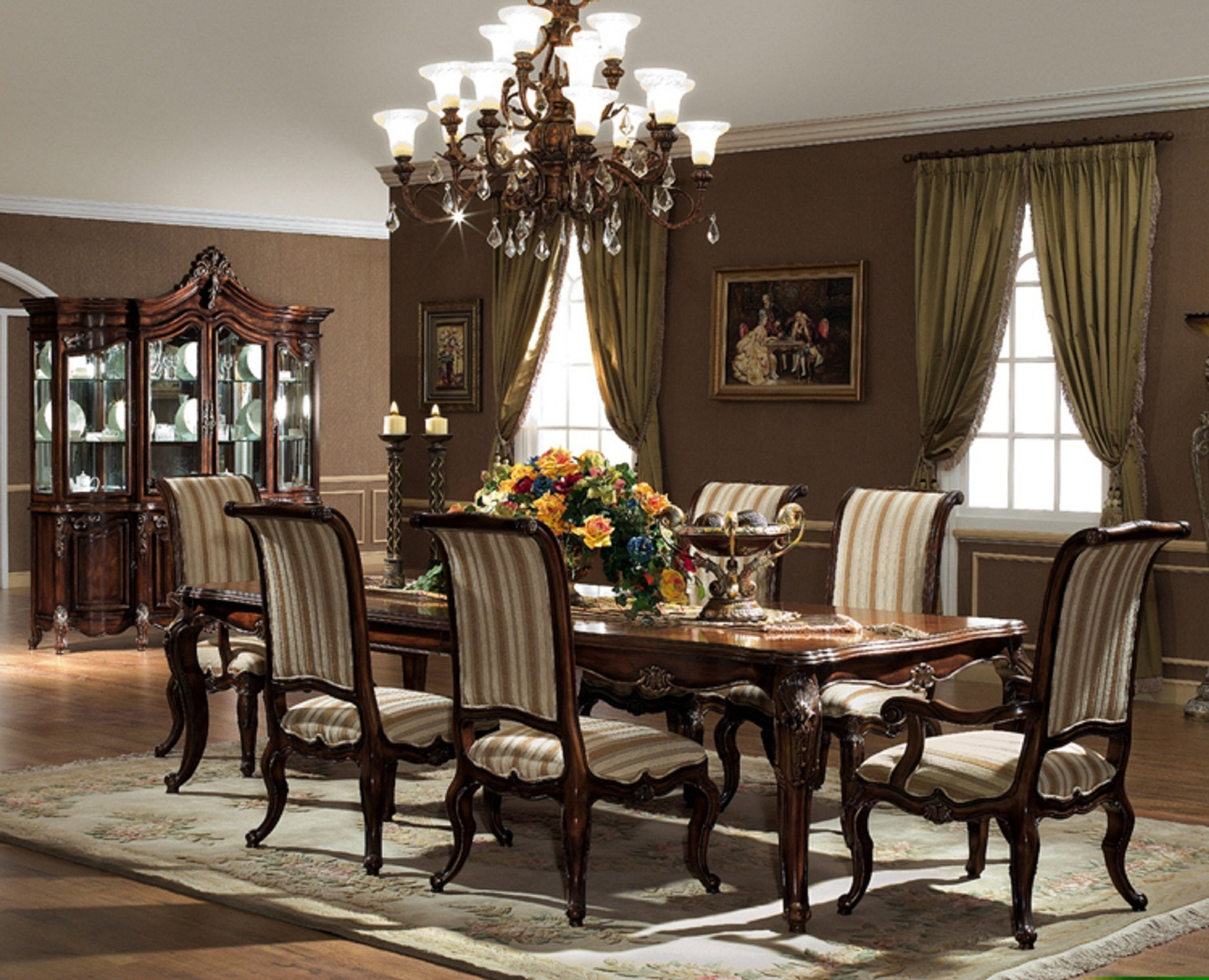 Best ideas about Dining Room Furniture . Save or Pin The Valencia Formal Dining Room Collection Now.