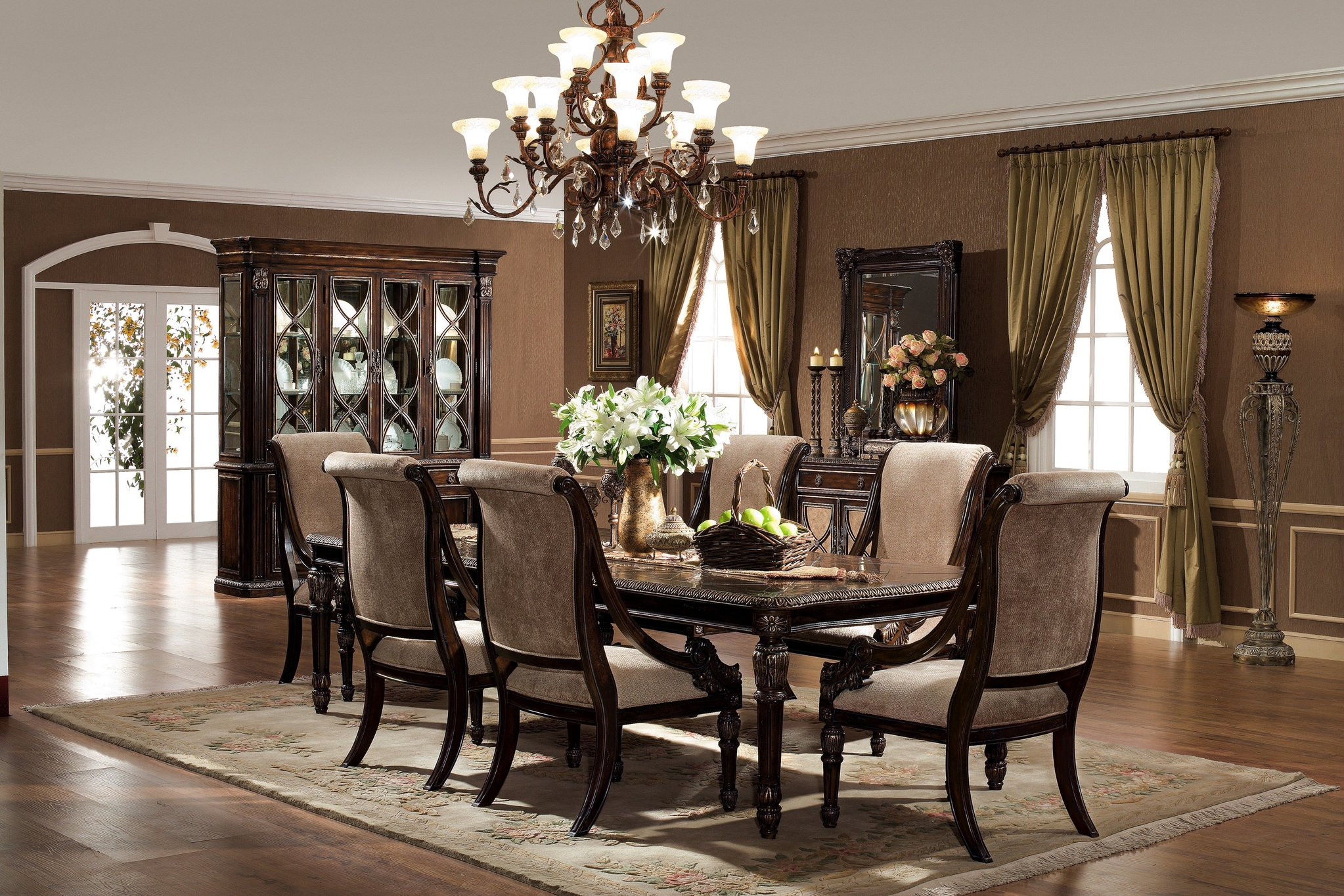 Best ideas about Dining Room Furniture . Save or Pin The Le Palais Formal Dining Room Collection dining room Now.