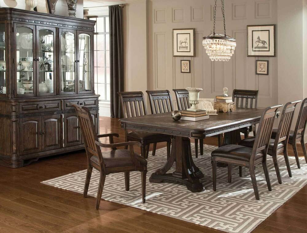 Best ideas about Dining Room Furniture . Save or Pin SPANISH STYLE RUSTIC DINING TABLE & CHAIRS DINING ROOM Now.