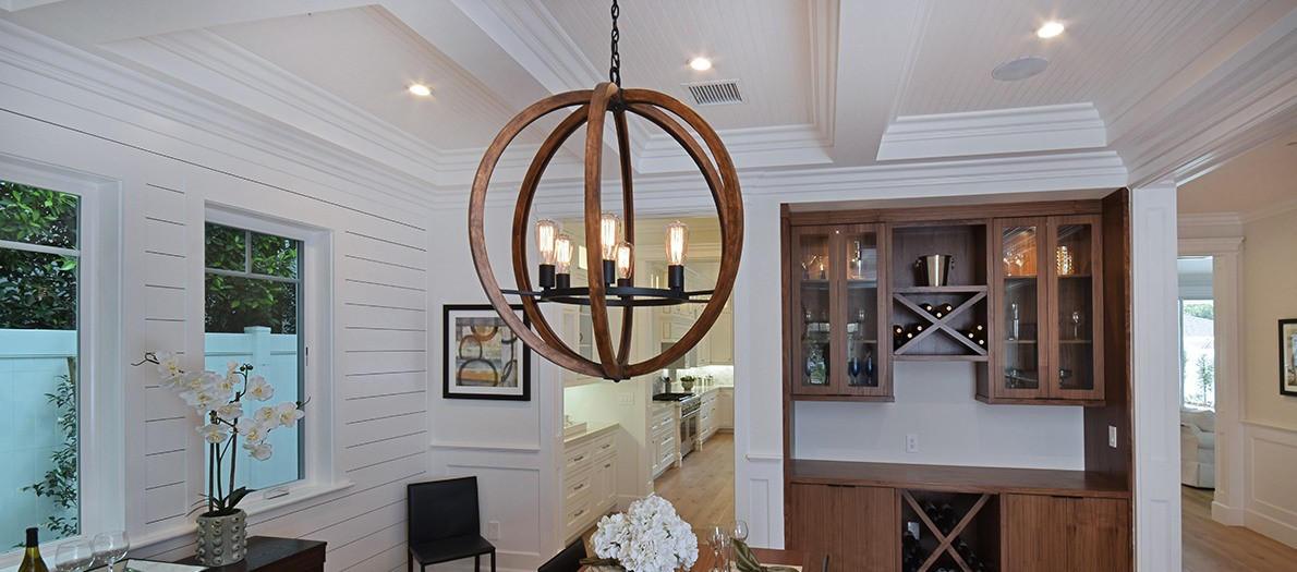 Best ideas about Dining Room Lighting Fixtures . Save or Pin Dining Room Lighting How to find the right size fixture Now.