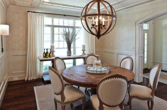 Best ideas about Dining Room Lighting Fixtures . Save or Pin Light Fixtures for Open Concept Dining Rooms Satori Now.