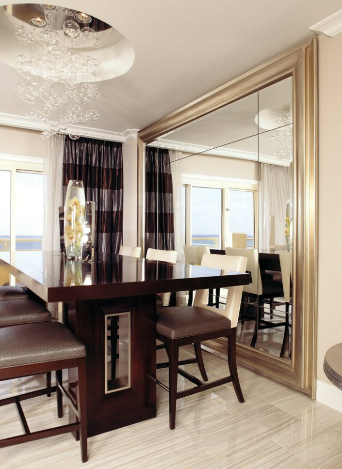 Best ideas about Dining Room Mirrors . Save or Pin Wall Mirrors Tips to Place the Mirror in the Right Now.
